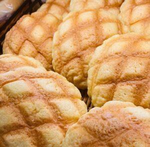 小山市パン屋オレアのメロンパン